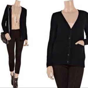T by Alexander Wang Cardigan Sweater Black Size M